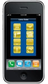 Lions Club iPhone App
