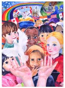 Peace Poster Grand Prize Winner Chen