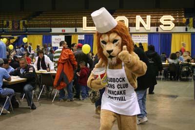 Lubbock Lions Club Pancake Festival