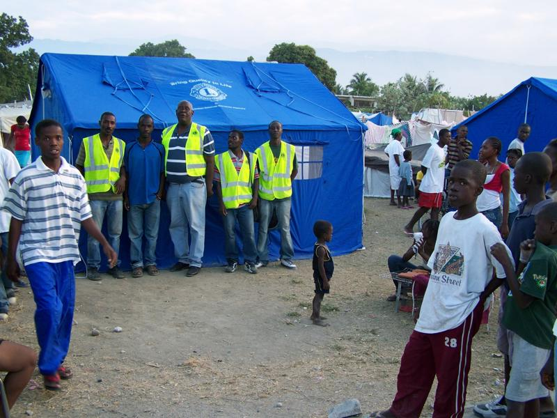 Lions Club Earthquake Relief Efforts in Haiti