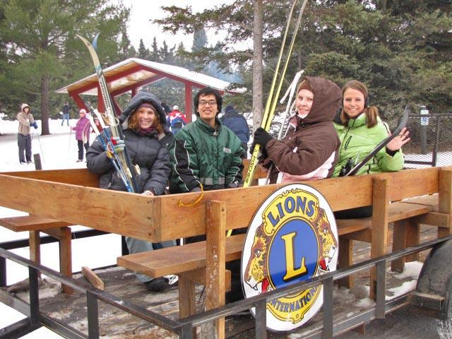 "Roscommon Higgins Lake Lions Club ""Ski for Sight"""