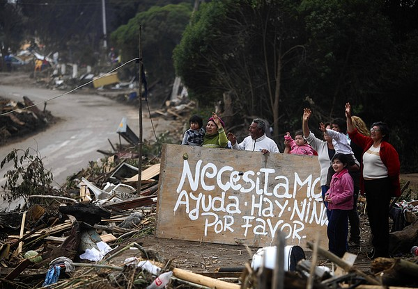 Earthquake Victims in Chile