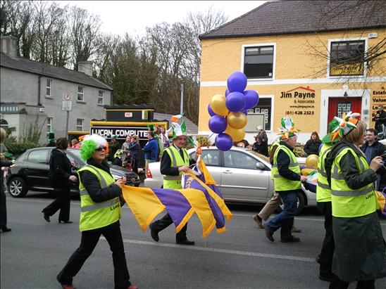 Lucan Lions Club in St. Patrick's Day Parade