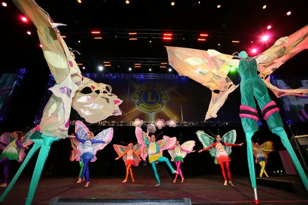 Butterfly Dancers at Lions Clubs International Convention
