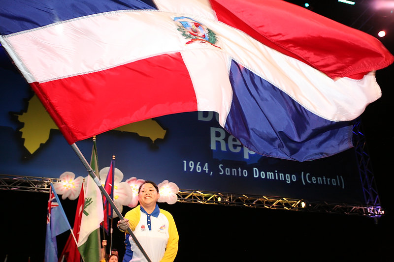 Flag Ceremony at Lions Clubs International Convention in Sydney