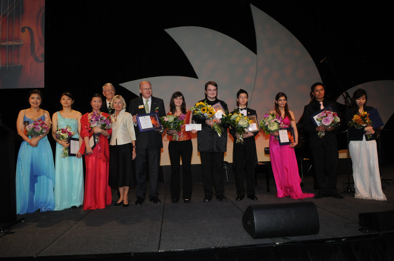 Global Youth Music Competition Finalists at International Convention