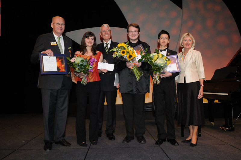 Global Youth Music Competition Winners at International Convention