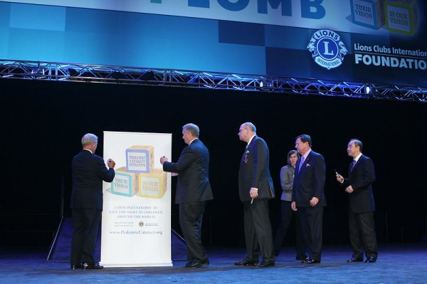LCIF, Bausch + Lomb Launch Pediatric Cataract Initiative