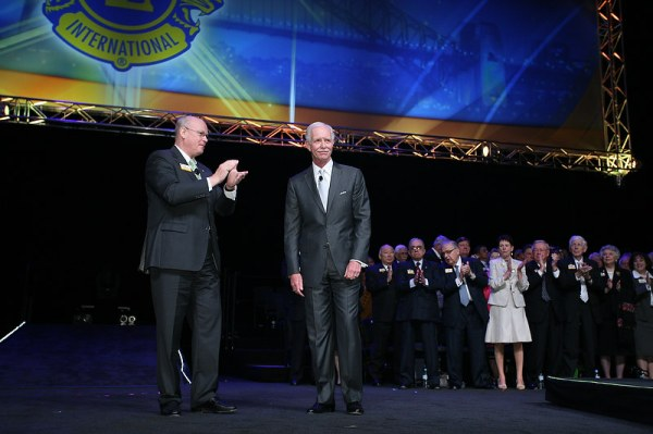 Sully Sullenberger at Lions Clubs International Convention in Sydney.