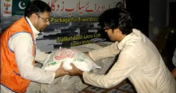 Pakistan Flooding Relief Efforts