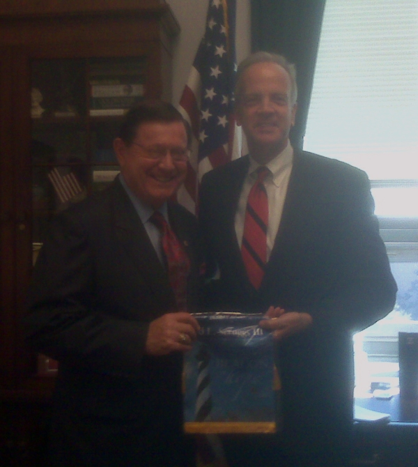Scruggs with Jerry Moran