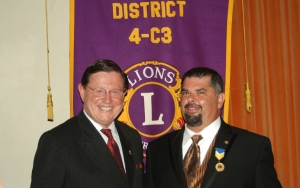 President Scruggs and Bruce Dixon