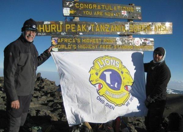 Lions Help Seven Blind Hikers Scale Mount Kilimanjaro