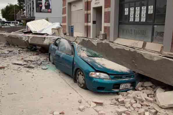 New Zealand Earthquake Damage