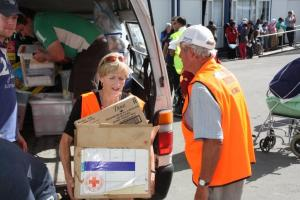 Lions Clubs Helping Earthquake Victims in New Zealand