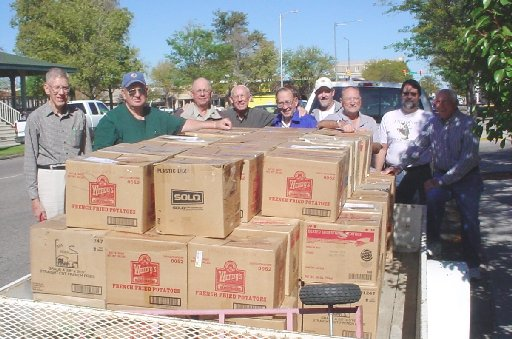 Sterling Lions Club Recycles for Sight