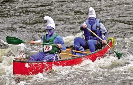 Lions club canoe race