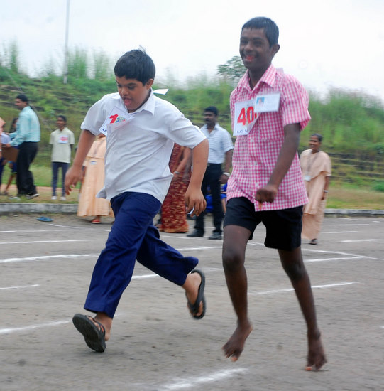 Lions in India Host Special Olympics