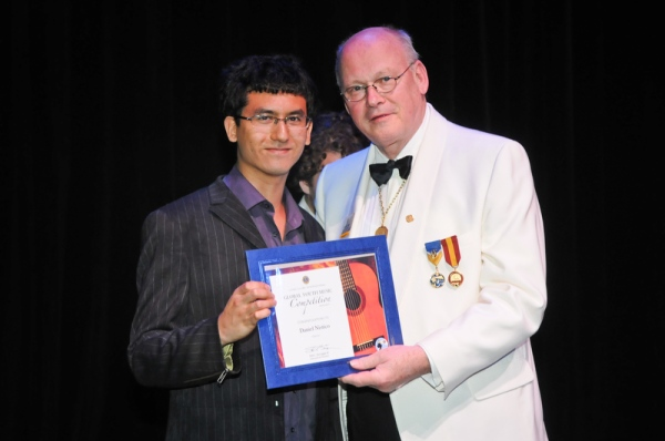 Global Youth Music Competition Winner Daniel Nistico